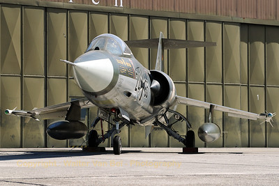 """This RF-104G (24+85, cn 683-8235), preserved by JG71 at Wittmundshafen, was my favorite photographer at the """"celebration of 50 years Phantom II / 35 years of Phantom II in Germany""""."""