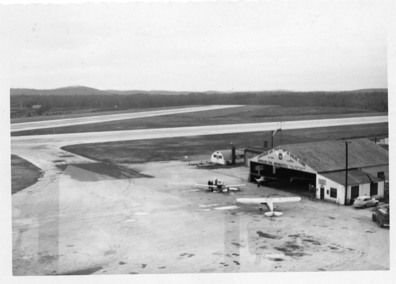 Preston Glenn Airport Lbg Air Transport Hangr (06618)