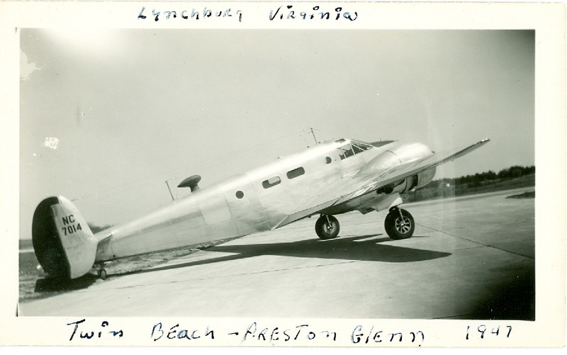 Preston Glenn Airport and Twin Beech (06328)