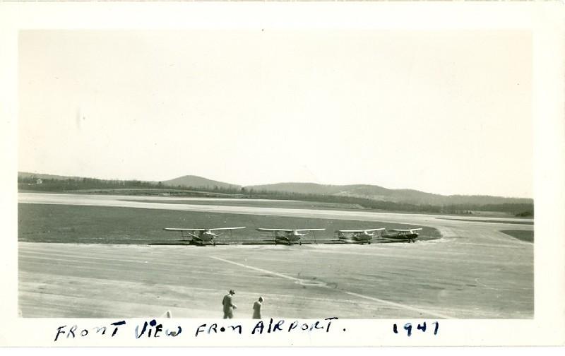 Preston Glenn Airport Front View (06325)
