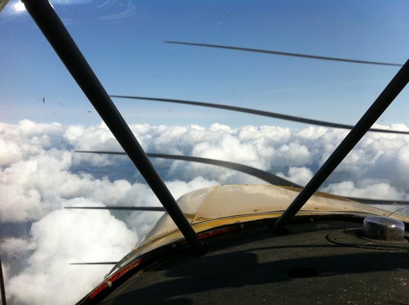 Looking North towards Newton Stewart. iPhone photo hence propeller banding.