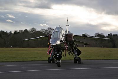 RAF SEPECAT Jaguar T.2, XX837 / Z - 08/03/18
