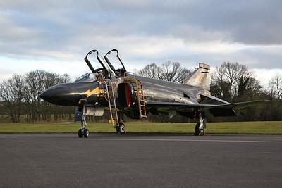 ex-RAF McDonnell-Douglas/BAC F-4K Phantom FG.1, XV582, 'Black Mike' - 08/03/18