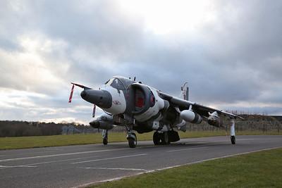 RAF Hawker Siddeley Harrier GR.3, XZ991 / 07 - 08/03/18
