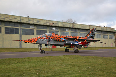 RAF SEPECAT Jaguar GR.3A, XX119 / AI 'Spotty' - 08/03/18