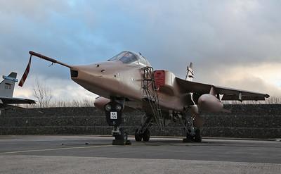 RAF SEPECAT Jaguar GR.3A, XX725 / T - 08/03/18
