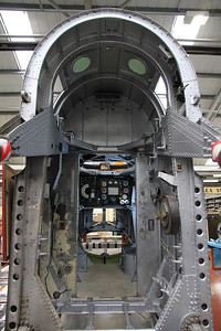 Handley Page Hampden Mk.1 P3144 under restoration after being recovered from Russia where it was shot down by 2 x Messerschmitt Bf 109's in 1942 - 19/03/11.