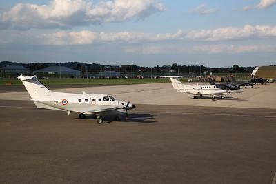 French Air Force Embraer EMB.121 Xingu, 105 / YU - 01/06/17.