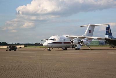 RAF BEe 146-100 Statesman, ZE701 - 01/06/17.