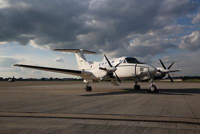 USAF Beechcraft C-12D Huron, 40157 - 01/06/17.