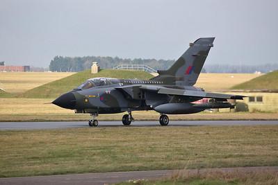 RAF Panavia Tornado GR.4, ZG752/129, taxi for take off - 23/01/19