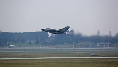 RAF Panavia Tornado GR.4, ZG752/129 (Camo special), take off - 28/02/19