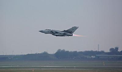 RAF Panavia Tornado GR.4, ZD744/092, take off - 28/02/19