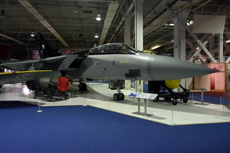 RAF Tornado F3 ZE887, RAF Museum, Hendon, 10 September 2015 2.