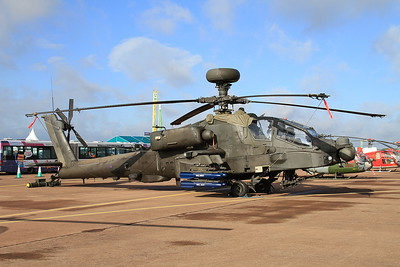 Army Air Corps Westland WAH-64 Apache AH1 ZJ181 on static display - 19/07/15.
