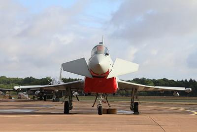 RAF Eurofighter EF-2000 Typhoon FGR4 ZK308/EF on the flight line - 19/07/15.