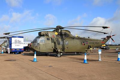 Royal Navy Westland Sea King HC4 ZE427/K on static display - 19/07/15.