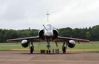 French AF (Ramex Delta Display Team) Dassault Mirage 2000N, 353/125-AM, on the flight line - 10/07/16.