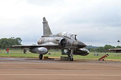 French AF (Ramex Delta Display Team) Dassault Mirage 2000N, 375/125-CL, on the flight line - 10/07/16.