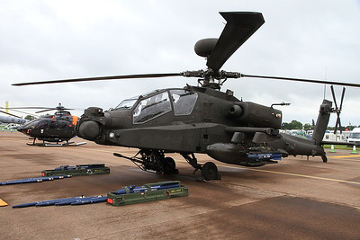 Army Air Corps Westland WAH-64 Apache AH.1, ZJ226, on static display - 10/07/16.