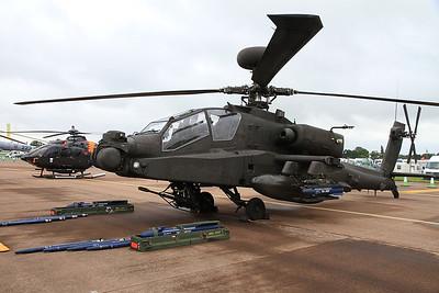 Army Air Corps Westland WAH-64 Apache AH.1, ZJ226, on static display - 10/07/16.