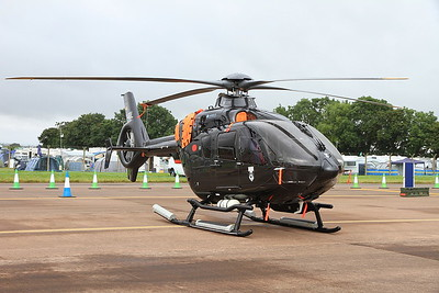 German Navy Airbus EC135 P2+, D-HDDL, on static display - 10/07/16.