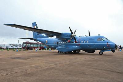 Irish Air Corps Casa CN-235-100M, 252, on static display - 10/07/16.