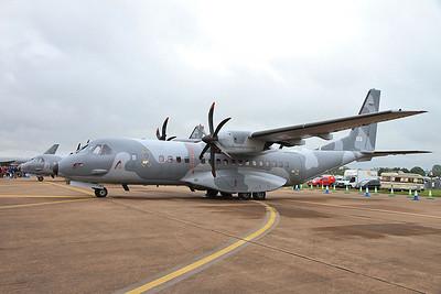 Polish AF Casa C-295M's, 013 & 028, on static display - 10/07/16.