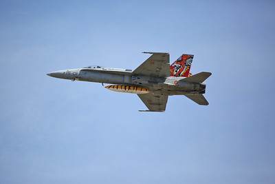 Spanish AF McDonnell Douglas EF-18A Hornet, C.15-14 / 15-01 - 17/07/17
