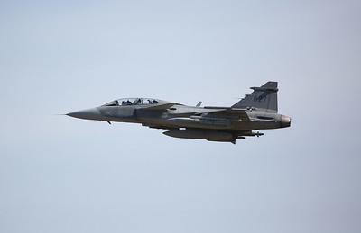 Swedish AF Saab JAS 39D Gripen, 39827 - 17/07/17