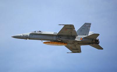 Spanish AF McDonnell Douglas EF-18A Hornet, C.15-39 / 15-26 - 17/07/17