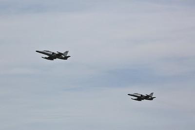 Czech AF Aero L-159A ALCAs (Advanced Light Combat Aircraft), 6060 & 6054 - 17/07/17
