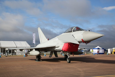 RAF Eurofighter EF-2000 Typhoon FGR.4, ZK334, on static display - 16/07/17