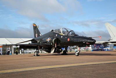 RAF BAe Hawk T.2, ZK021 / L, on static display - 16/07/17