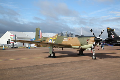 RAF Short S-312 Tucano T.1 Trainer, ZF378 / RN-S, on static display - 16/07/17