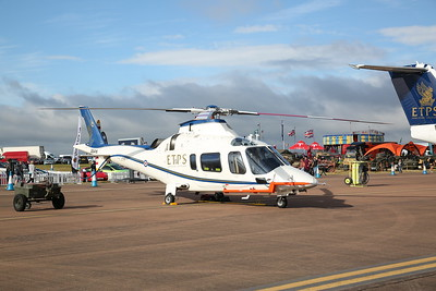 ETPS Agusta AW109 Power, ZE416, on static display - 16/07/17
