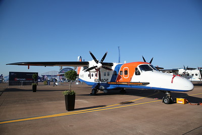 Netherlands Coastguard Dornier Do.228-212, PH-CGC, on static display - 15/07/18