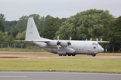 Swedish AF Lockheed C-130H Hercules 84008/848, arrival - 22/07/19