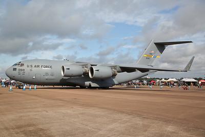 USAF Boeing C-17A Globemaster III, 99-0169, on static display - 20/07/19