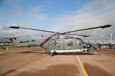 German Navy Westland Sea Lynx, 83+10, on static display - 20/07/19