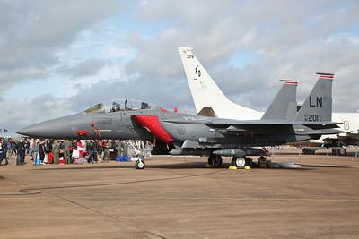 USAF McDonnell Douglas F-15E Strike Eagle, 96-0201/LN, on static display - 20/07/19