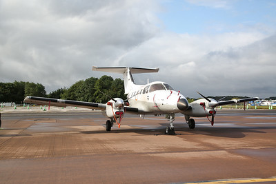 French Navy Embraer EMB121AN Xingu, 87, on static display - 20/07/19