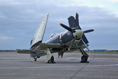 RNHF Hawker Sea Fury FB.11, VR930 - 15/03/18