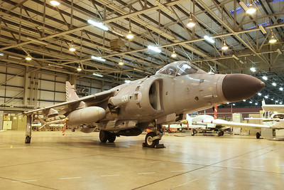 ex-RN BAe Sea Harrier FA.2, 001 / ZH800 (carrying reg ZH801) - 15/03/18