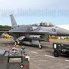 Lockheed-Martin F-16D Block 52+ (Advanced Block 52) 678/01-6027 of 145 'Hornet' Sqn, normally based at Changi East Airbase