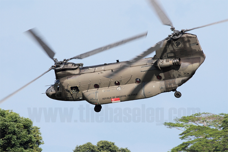 Singapore's Chinooks have seen extensive use in Humanitarian Assistance and Disaster Relief (HADR) missions throughout the region since the first example arrived in Singapore in 1998.