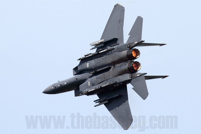 Turning and burning! Singapore has acquired 24 F-15SGs, all of which have been delivered by late 2010.