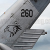 123 Sqn insignia on the tail of S-70B Seahawk 260. When not deployed on the Republic of Singapore Navy's Formidable-class frigates, the Seahawks are based at Sembawang Airbase with the rest of the RSAF's helicopters