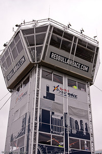 The Red Bull Air Races are managed from the five-story control tower.