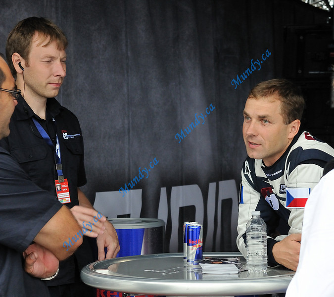 Martin Sonka (right) and his Team Coordinator and brother Josef Sonka (left).